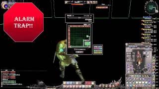 Wizardry Online - Alarm Trap!!