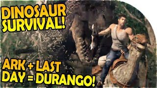 ARK SURVIVAL EVOLVED + LAST DAY ON EARTH SURVIVAL = DURANGO WILDLANDS Gameplay Part 1 - Android iOS