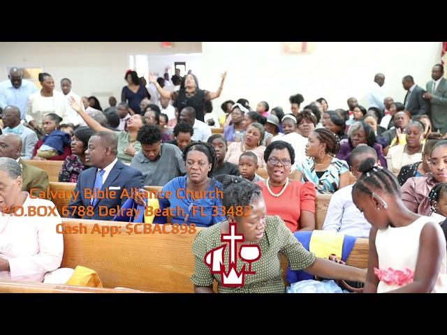 Calvary Bible Alliance Church_Delray Beach 2020