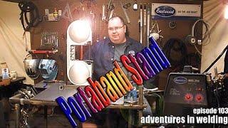 Adventures In Welding #103 Bandsaw Stand