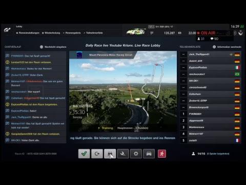 Daily Race | Live Race Lobby | Gran Turismo Sport thumbnail