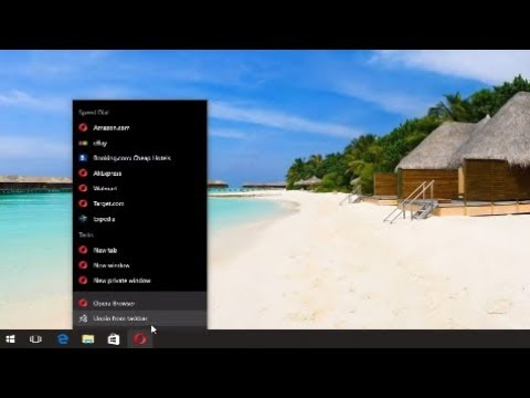 How To Add And Remove Program Icons From Taskbar In Windows 10