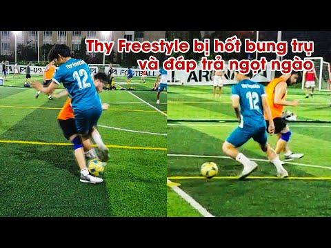 Giao Hữu Bóng Đá 5vs5 | Tân Messi Chuyền Bóng Kỹ Thuật Rabona Kiến Tạo Cho Thy Freestyle Ghi Bàn