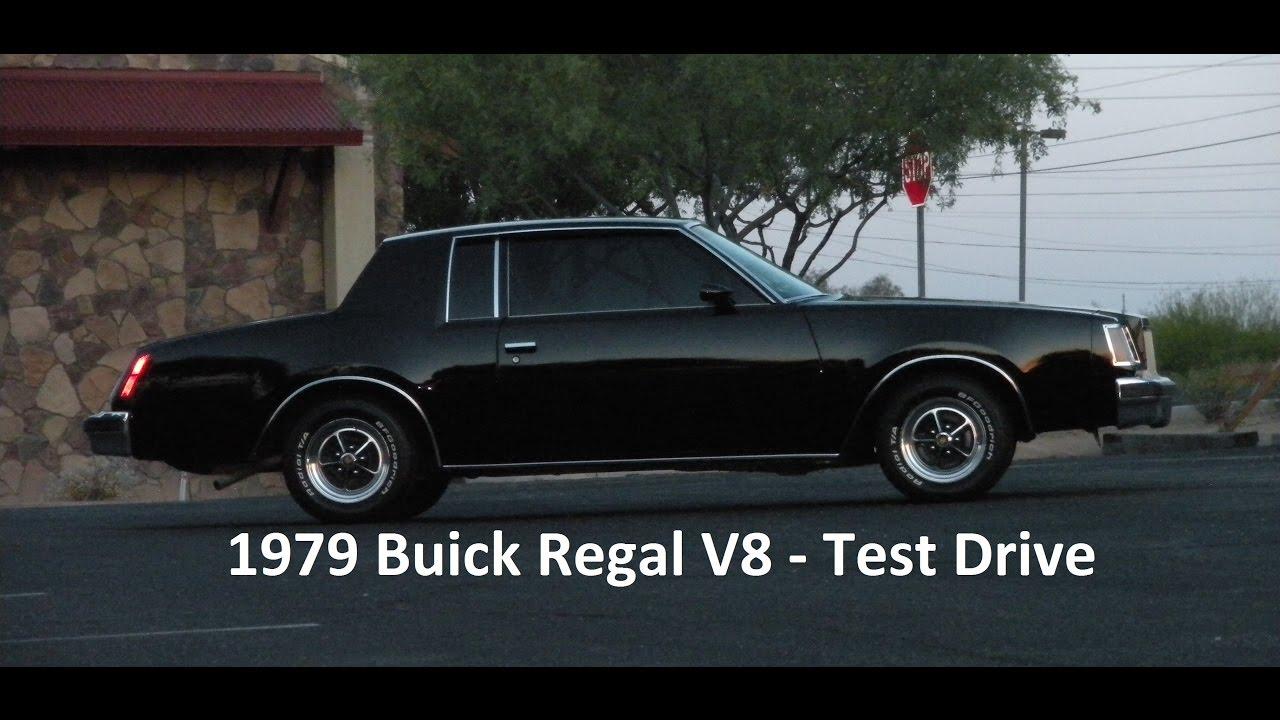 1979 buick regal v8 coupe test drive youtube. Black Bedroom Furniture Sets. Home Design Ideas