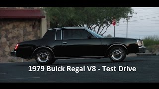 1979 Buick Regal V8 Coupe Test Drive