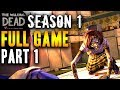 FULL GAME: Part 1- The Walking Dead Season 1 FULL Gameplay/ Walkthrough/ Playthrough