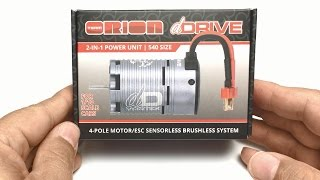 Out of the Box: Team Orion dDrive Motor With integrated Speed Control