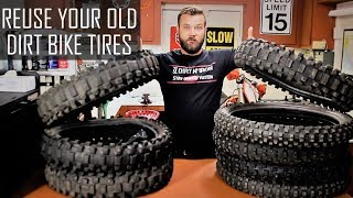 Great way to reuse old dirt bike tires