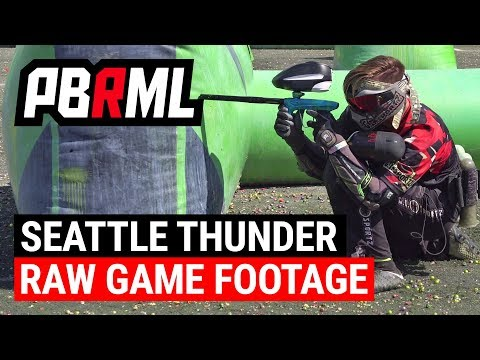 Seattle Thunder Raw Gameplay Footage: NXL Chicago 2017 Layout