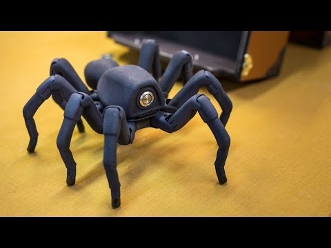 Inside Adam Savages Cave: Awesome Robot Spider!