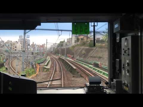[4K] 2016/4/24 山手線 秋葉原~秋葉原 前面展望(Yamanote-Loop-Line round to Akihabara from Akihabara)
