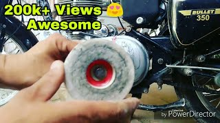 Three technique for Royal Enfield engine buffing part-1 || Mehra Riderzz || DIY ||