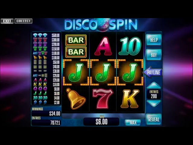 Custom slot machine software. Disco Spin for street operations from Inbet Games