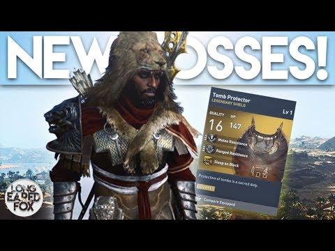Assassin's Creed Origins | TRIAL OF THE GODS ALL BOSSES REVEALED! - Anubis, Sobek, Ra & Sekhmet!