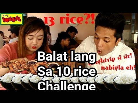 Mang Inasal Challenge(total of 13rice)