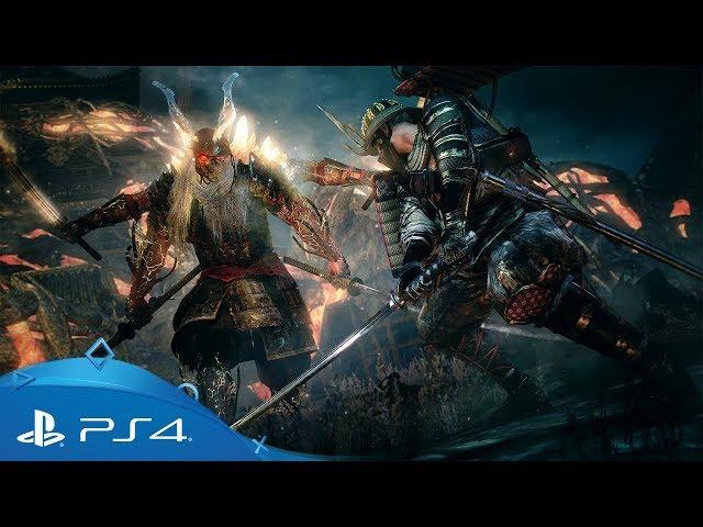 Nioh | Bloodshed's End DLC Launch Trailer | PS4