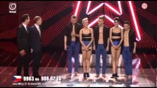 Credance - finále   Česko Slovensko má talent 2012