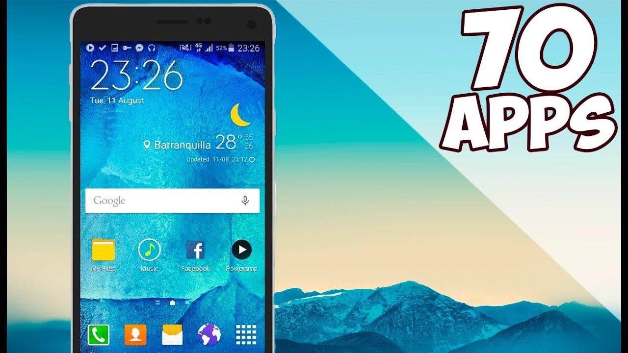 70 MEJORES APLICACIONES 2017 Android/iOS | Tu Android Personal