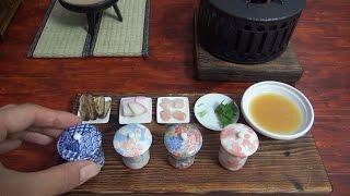 Mini Food Egg custard 食べれるミニチュア茶碗蒸し