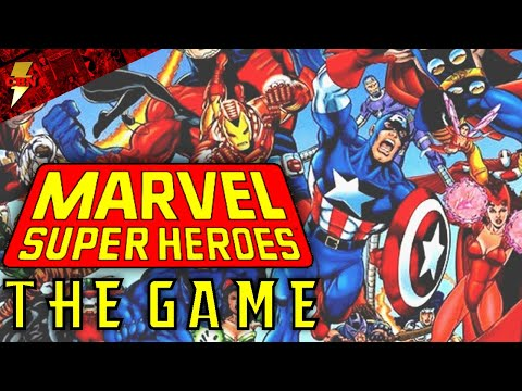 Marvel Superheroes Role Playing Game (RPG)  - Nostalgia Knowledge