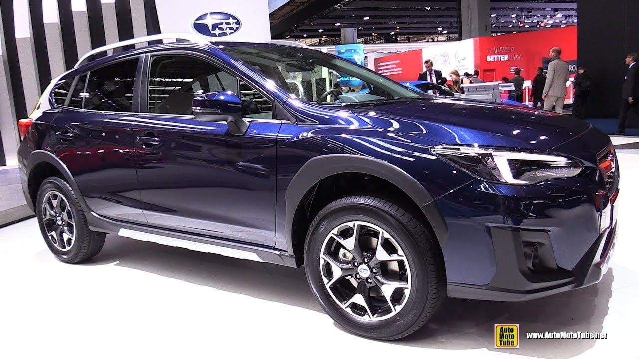 2018 Subaru Xv Exterior And Interior Walkaround 2017 Frankfurt