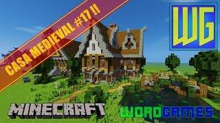minecraft casa medieval uma construindo