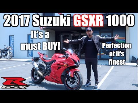 The 2017 Suzuki GSX-R 1000 is the BIKE to BUY!