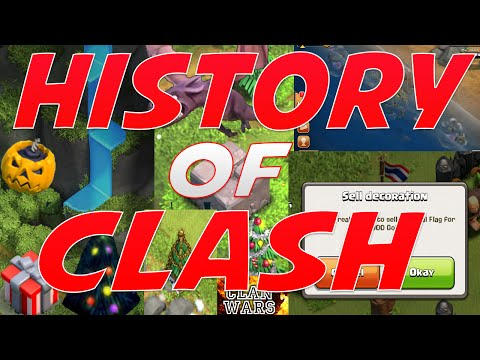 Clash of Clans - HISTORY OF CLASH 2012-2015!