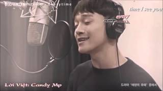 [Karaoke-Lời Việt] Everytime - Chen (EXO) ft. Punch (Descendant Of The Sun OST)