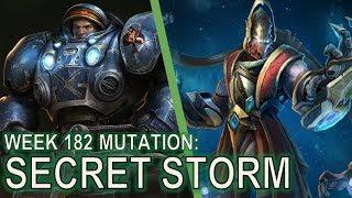 Starcraft II: Co-Op Mutation #182 - Secret Storm [Siriusly Important]