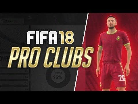 PRO CLUBS! - FIFA 18