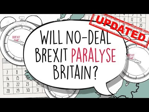 Will no-deal Brexit bring the UK to a standstill?