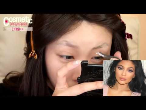 Kylie Jenner Kylie Jenner makeupl déplacé les temps Risabaeart