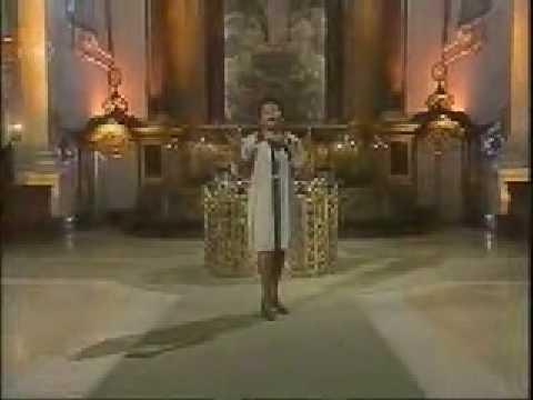 Janice Harrington Singing Gospel in The St Michaelis church Hamburg