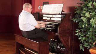 J.S. Bach - Un poco Allegro, Trio Sonata IV in E minor, BWV 528