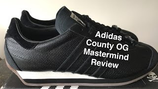 Adidas Country OG x Mastermind Sneaker Review