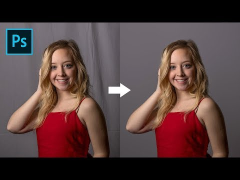 How to Clean Wrinkly Backdrops in Photoshop