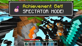 Minecraft, BUT I GET SPECTATOR MODE EVERY MINUTE...
