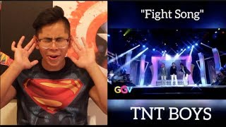 FAN REACTS to TNT BOYS - Fight Song on GGV! (OUT OF THIS WORLD!)