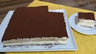 Kedi Dili İle Yaş Pasta Tarifi /Bor Cam Pastası Nasıl Yapılır