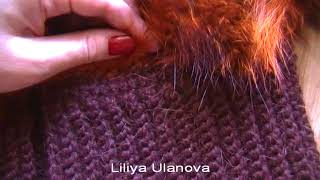 6 Шуба Вязание Пояса