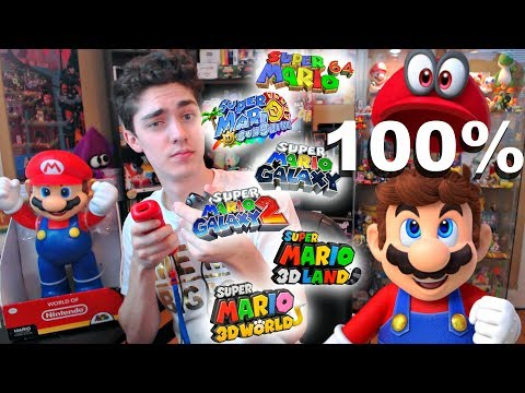 100% -ing ALL Super Mario 3D Platformers Before Odyessy Launches! [Current game: Galaxy 2]
