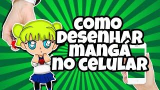 COMO DESENHAR MANGÁ/ANIME NO CELULAR - ibispaint x