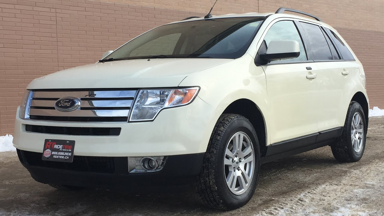 2008 ford edge sel alloy wheels heated seats for sale in winnipeg mb youtube