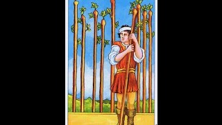 Lady Leeanna talks about the 9 of wands in the Rider Waite deck of ...