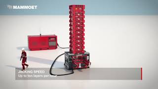 Watch Why The Mammoet Mega Jack 300 Is A Great Solution For Projects With Limited Space