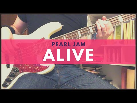 Pearl Jam | Alive (Bass cover with TABS)