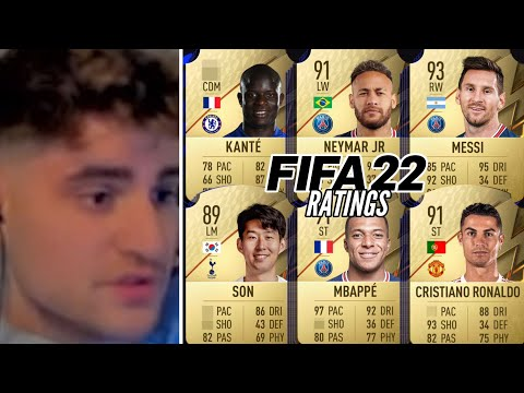 ELI reagiert auf die offiziellen FIFA 22 RATINGS!😱🔥   ELIGELLA