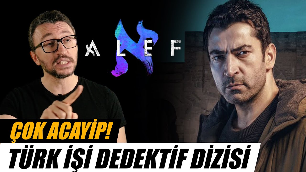 ALEF Dizi İncelemesi | Acayip Bir Türk İşi Dedektiflik Dizisi