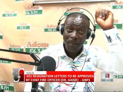 421 Resignation Letters - Fabewoso on Adom TV (25-7-16)